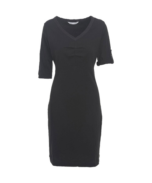 Women's First Forks Convertible Sleeve Dress - 100% Cotton Jersey