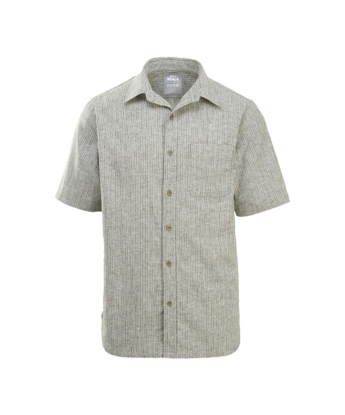 Men's Hemp/Cotton Blend Short Sleeve Shirt