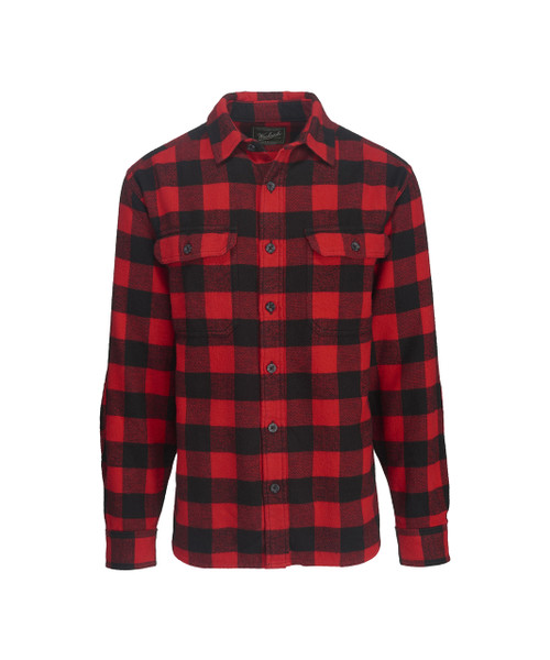 Men's Oxbow Bend Plaid Flannel Shirt - 100% Cotton