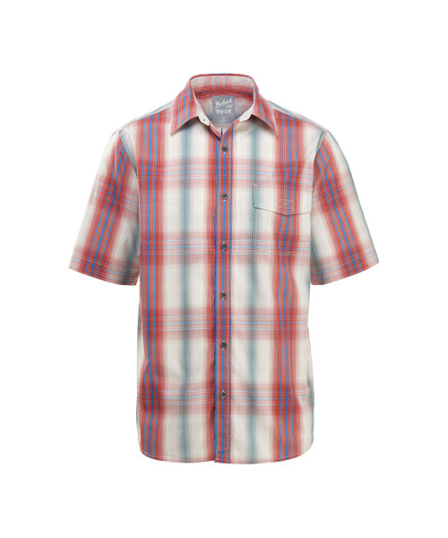 Men's Desert View Plaid Short Sleeve Shirt