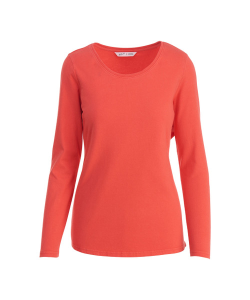 Women's First Forks Long Sleeve Crew T-Shirt - 100% Cotton