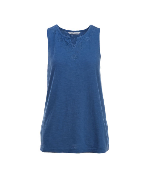 Women's Bell Canyon Embroidered Tank Top - 100% Organic Cotton