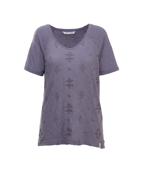 Women's Bell Canyon Embroidered T-Shirt - 100% Organic Cotton