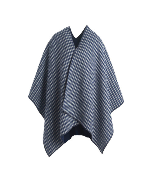 Double-Face 100% Wool Poncho