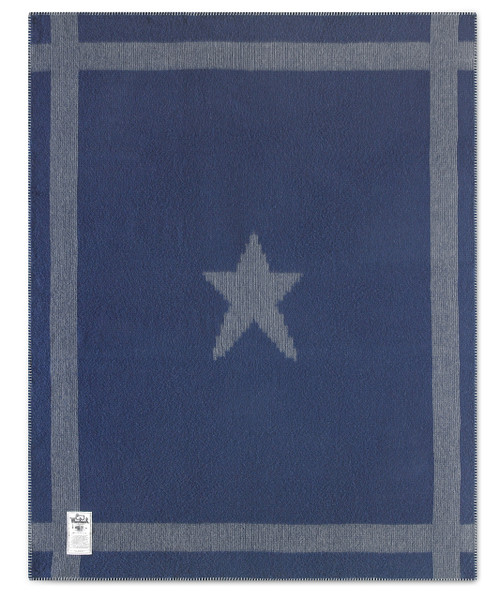 "Gettysburg Star Civil War Soft Wool Blanket (50""x60"")"