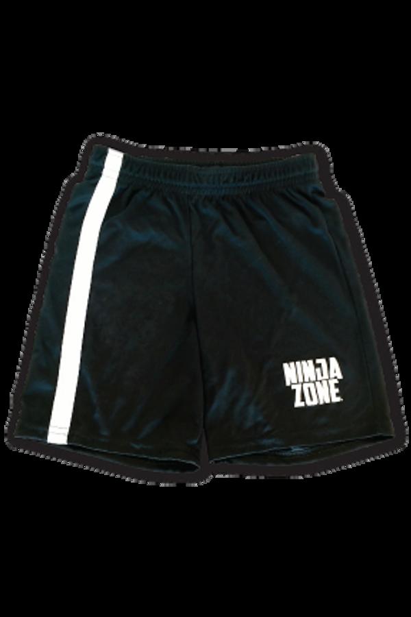 Black Athletic Ninja Shorts