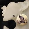 Butterfly shell earrings