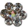Wholesale flower gem hair pin