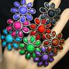Daisy flower rings