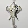 Silver elephant necklaces