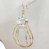 Wholesale golden hoop earrings