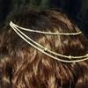 Gold head chain