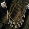 chain head band on comb