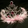 Pink princess tiara