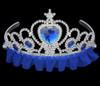 Blue princess tiara