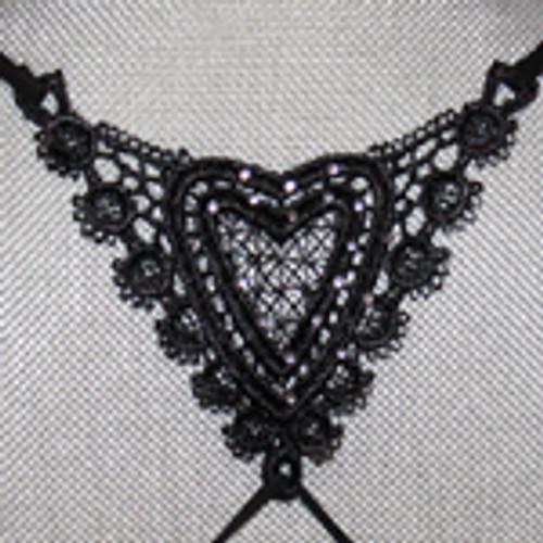 Heart bra straps