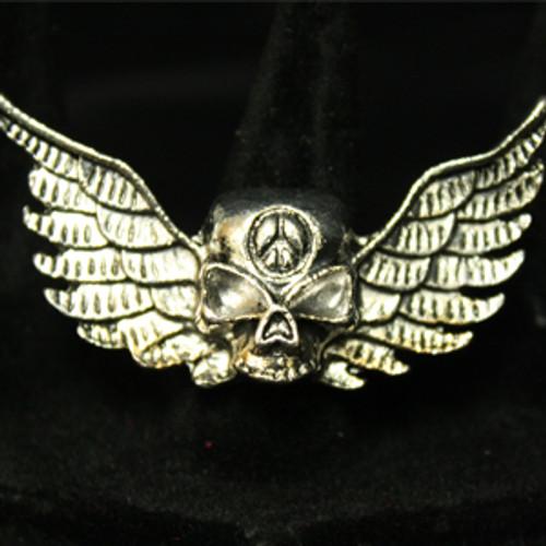 Skull wing ring