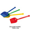 Short Handled Spade (assorted colors)
