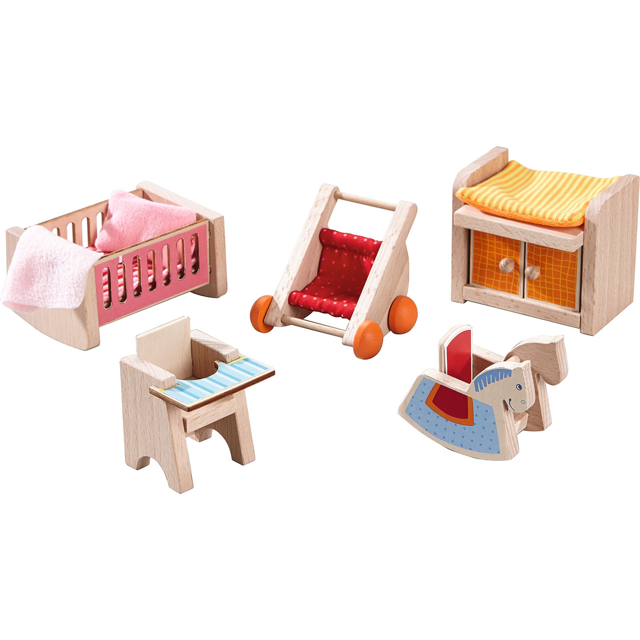Cheap Wooden Dollhouse Furniture In Dollhouse Furniture Childrens Room Haba Usa