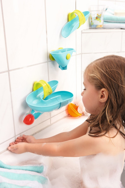 Bathtub Ball Track Set - Bathing Bliss Water Course - HABA USA