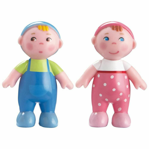 Bendy Doll Babies Marie and Max