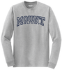 Mount Rugby Cotton Tee, Gray
