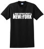 RRSNY Cotton Tee, Black