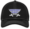Warriors Stretch Mesh-Back Hat, Black