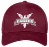 NOVA Eagles Stretch-Fit Mesh-Back Hat, Maroon