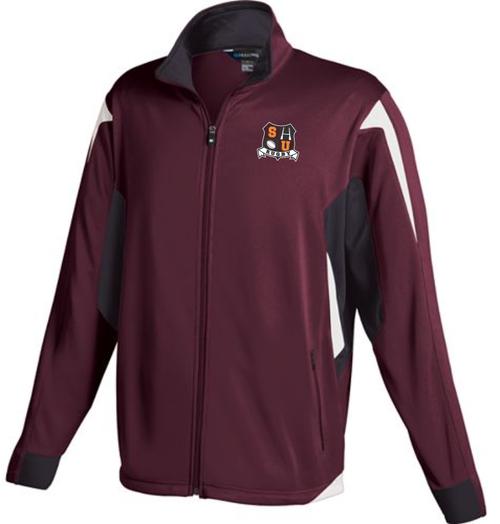 Men's/unisex cut version of the training jacket.