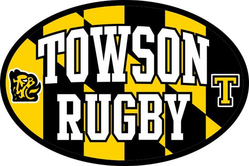 Towson Rugby Sticker