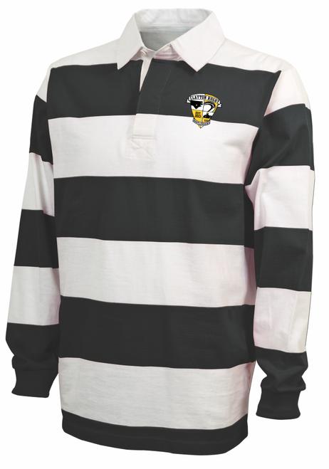 Clayton Bootleggers Rugby Stripe Polo