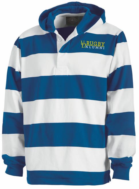 Delaware Alumni Rugby Stripe Hoodie