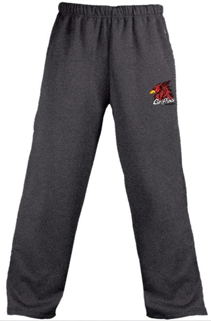 VA Griffins Performance Fleece Pants, Carbon