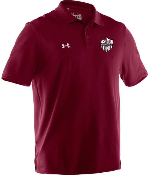 SIU Men UA Team Performance Polo, Maroon