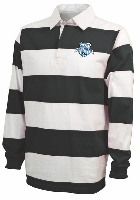 Hopkins Women Rugby Stripe Polo