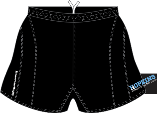 Hopkins Women SRS Performance Rugby Shorts