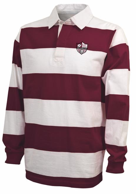 SIU Men Rugby Stripe Polo