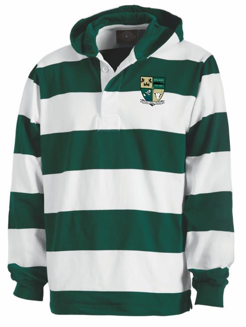 Point Park Rugby Stripe Hoodie