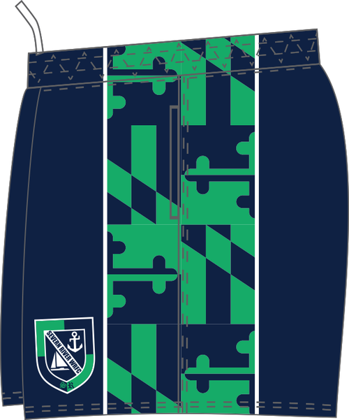 Severn River Custom Performance Rugby Shorts