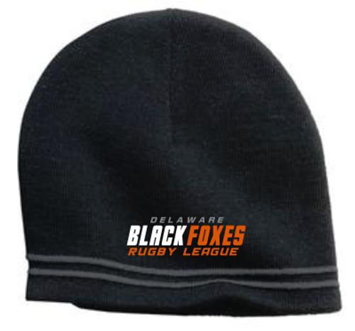Black Foxes Beanie