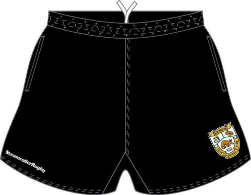 Rochester Aardvarks SRS Pocketed Performance Rugby Shorts