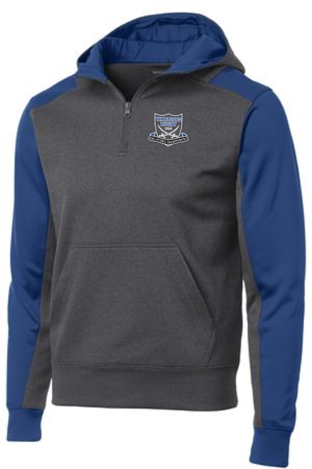 Warriors Rugby 1/4-Zip Performance Fleece Hoodie