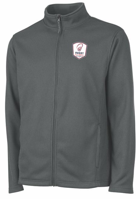 Rugby Illinois Rib Knit Jacket, Gray