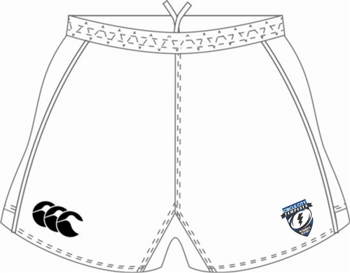 Tempests CCC Advantage Shorts, White
