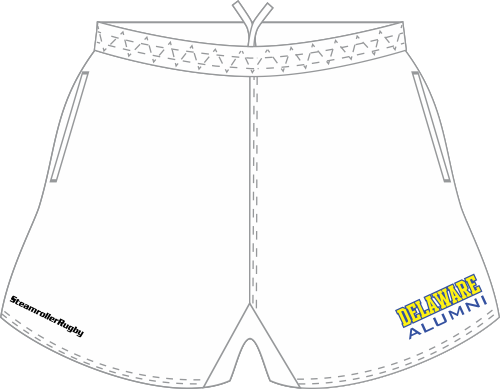 Delaware Alumni SRS Pocketed Performance Rugby Shorts