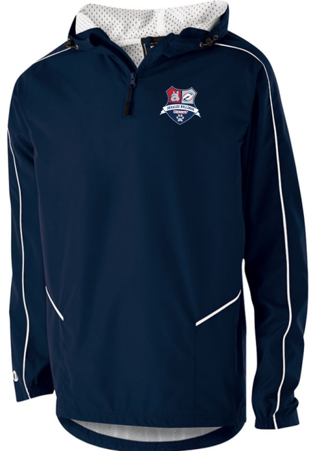 DeSales Men's Rugby Quarter-Zip Jacket