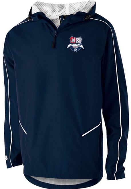 DeSales Men's Rugby Quarter-Zip Jacket