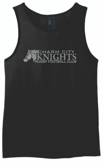 Charm City Knights Tank Top, Black