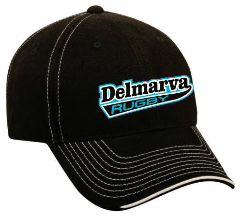Delmarva Rugby Twill Adjustable Hat